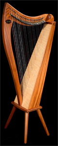 Picture of Allegro 26 Celtic Harp by Dusty Strings