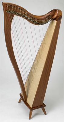 Picture of Dusty Strings Crescendo Lever Harp