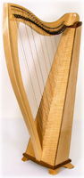 Picture of Maple FH32 Celtic Harp