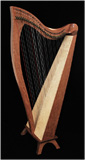 Picture of FH34 by <p>Dusty Strings</p> Harp
