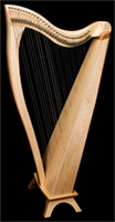 Picture of FH34 Harp In Maple