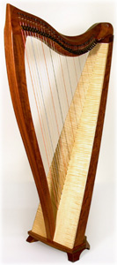 Picture of a Dusty Strings FH36 Celtic Harp