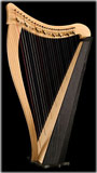 Picture of Ravenna 26 by <p>Dusty Strings</p> Harp