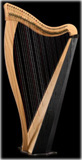Picture of Ravenna 34 by Dusty Strings Harp