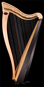 Picture of a Dusty Strings Ravenna 34 Celtic Harp