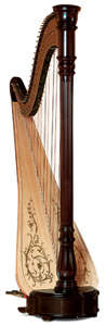 Picture of Chicago 47 Concertino Pedal Harp