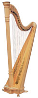 Picture of Natural Prelude Lever Harp