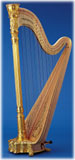 Picture of Style 23 Gold by Lyon & Healy Harp