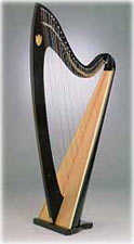 Picture of Troubadour Lever Harp