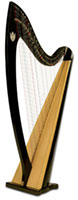 Picture of Troubadour Harp
