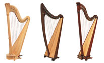 Picture of 3 Salvi Harps