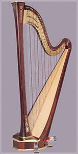 Picture of an Arion SG Harp by Salvi