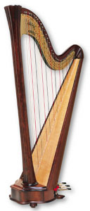 Picture of Daphne 40 Harp
