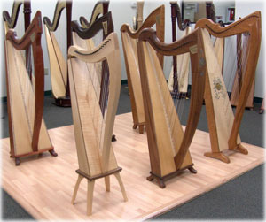 Picture of Celtic Harps