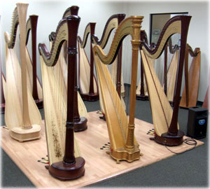 Picture of Lyon & Healy Pedal Harps