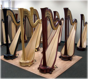 Picture of Salvi Pedal Harps