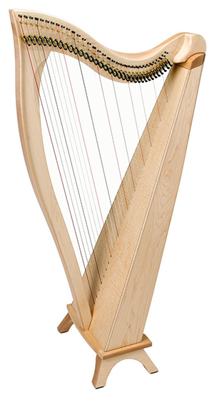Dusty Strings FH34 Celtic Harp