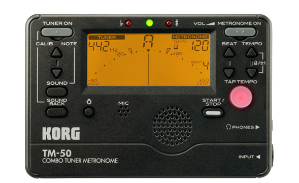 Picture of Electronic Tuning Aid, Korg Digital Tuner Metronome
