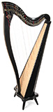 Picture of Boulevard Classic 34 by Dusty Strings Harp