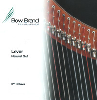 Picture of Bow Brand Lever Gut 5th Octave Set (E-D-C-B-A)