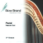 Picture of Bow Brand Pedal Natural Gut 3rd Octave Set (No. 15 - No. 21)