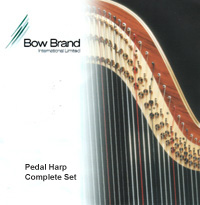 Picture of Bow Brand Complete Set 46 String Pedal Harp w/Nylon 1st - 2nd Octave