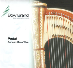 Picture of Bow Brand Pedal Concert Bass Wire 7th D (No. 44)