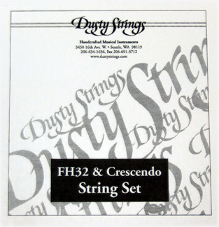 Picture of Dusty Strings FH32, Crescendo 32 Complete Set